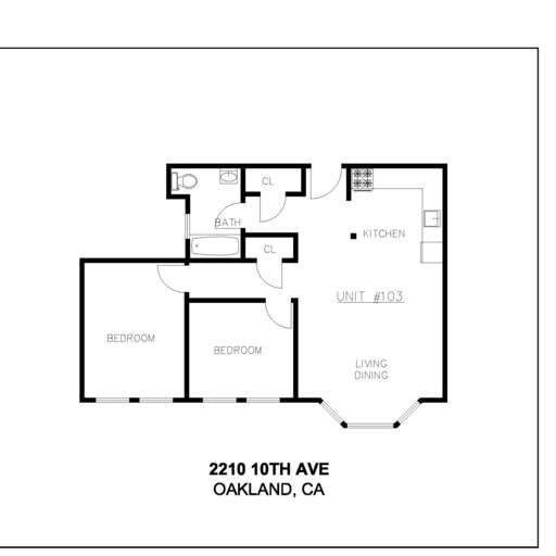 Fill 512x512 10 th ave. oakland 1oth apts. unit  103 no dimensions no area
