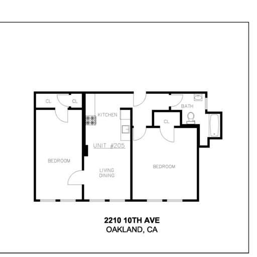 Fill 512x512 10 th ave. oakland 1oth apts. unit  205 no dimensions no area