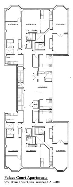 Floorplan: 555 OFarrell Street, San Francisco